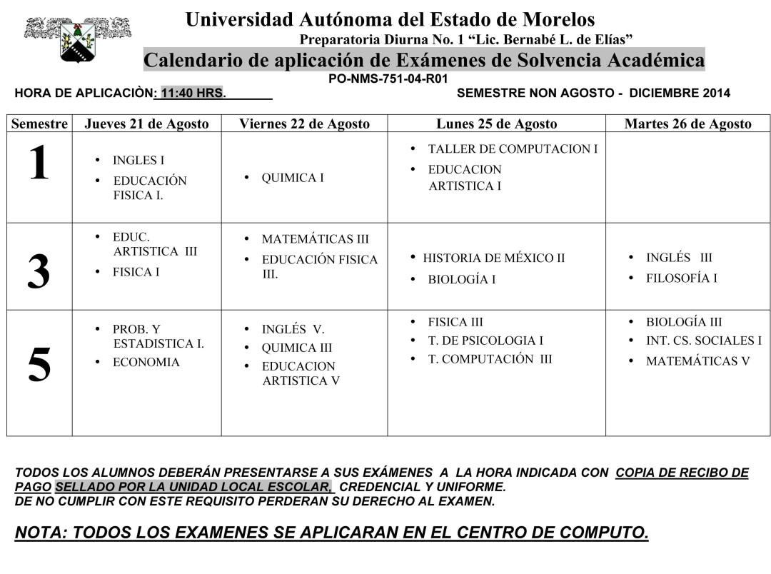 CALENDARIO EXAMENES SOLVENCIA (2)