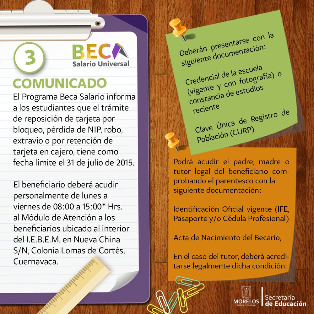 COMUNICADO BS3