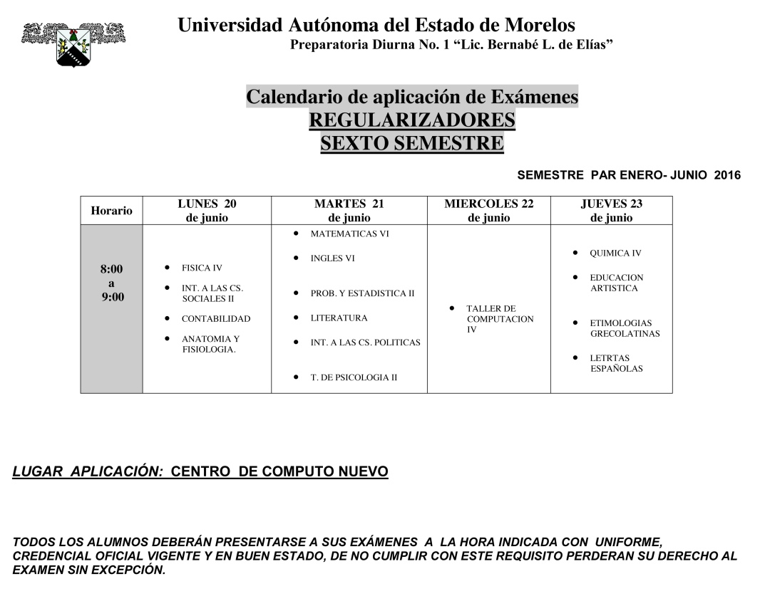 Universidad Aut—noma del Estado de Morelos