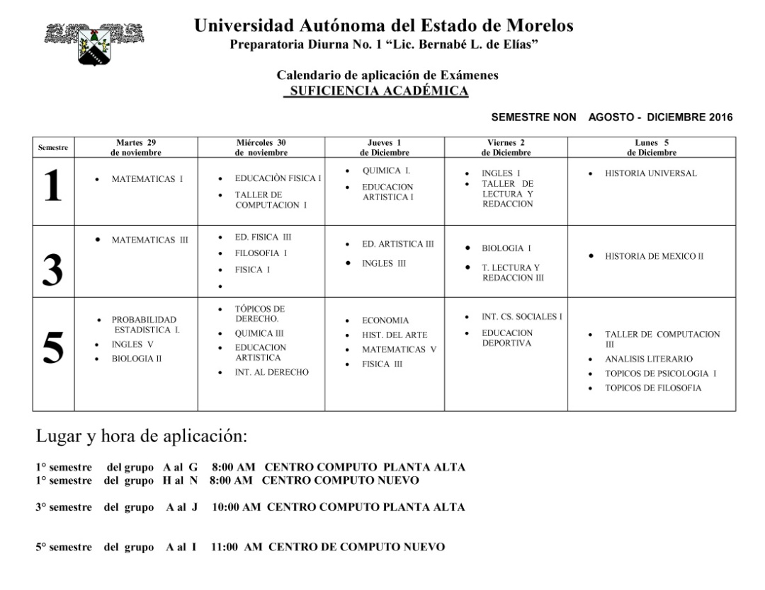 calendario-examenes-suficiencia-academica-nov