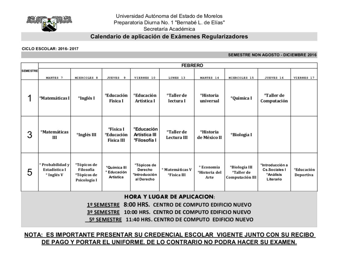 calendario-examenes-regularizadores-ene-2016